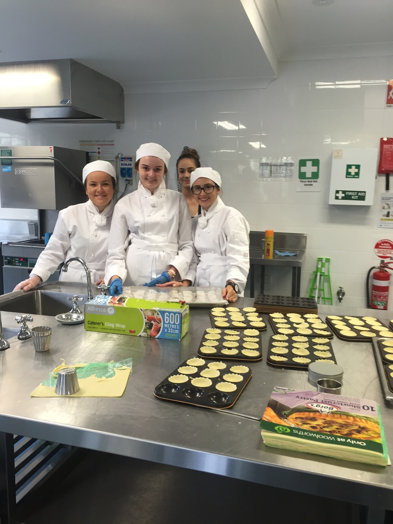 Hospitality Students - College Open Day