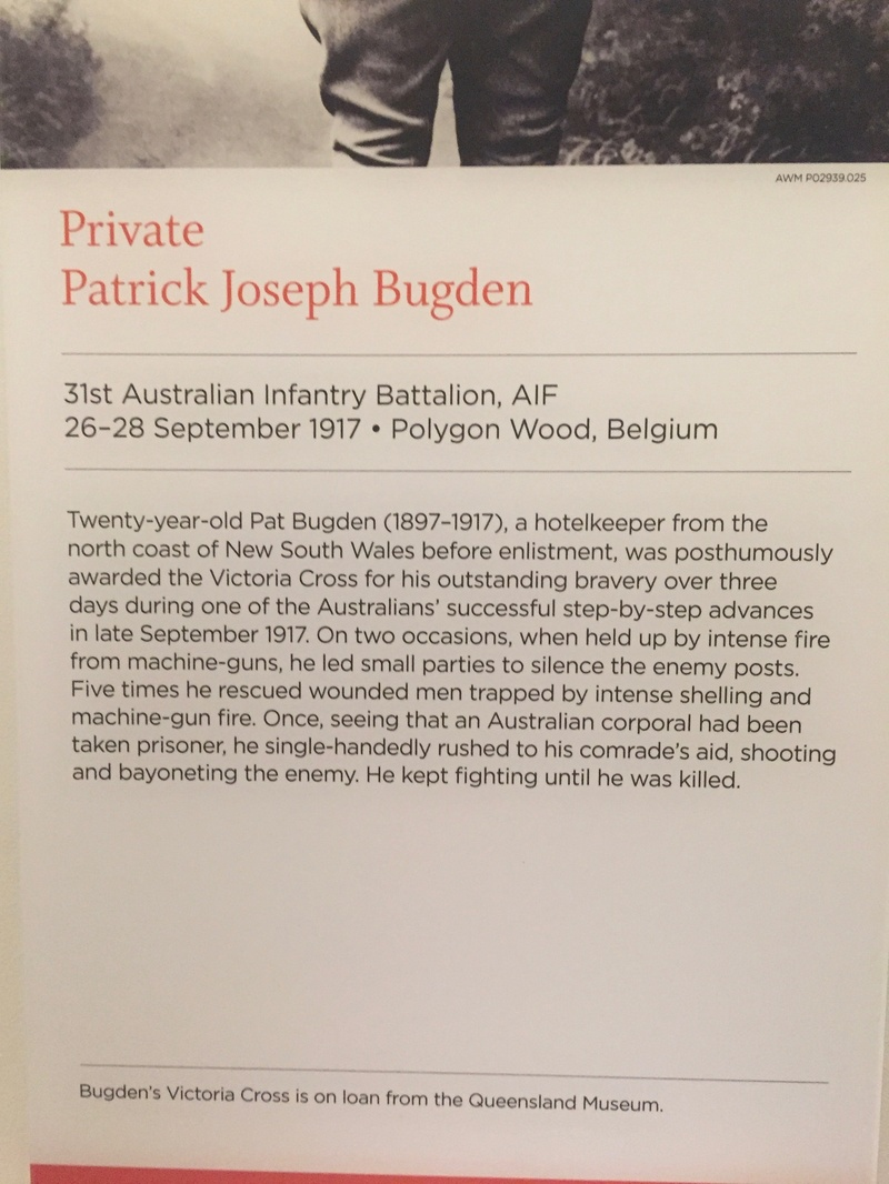 Private Patrick Bugden VC - From Abbey C Year 7