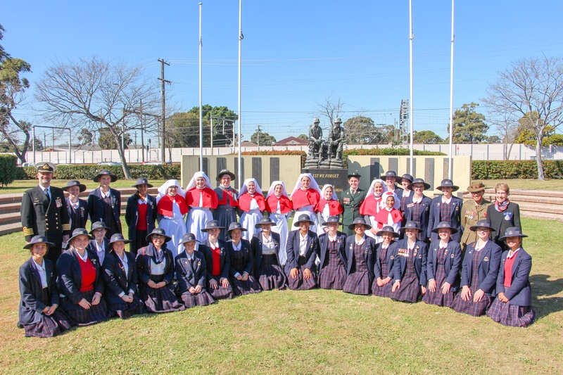 History Club with Captain Matthew Shand R.A.N Commanding  Officer HMAS Kuttabul and Her Excellency Margaret Beazley Governor of NSW