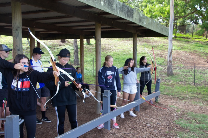Activity Group 3 - Archery with Mrs Ibbett