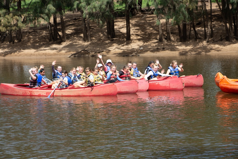 Activity Group 7 - Canoeing with Mrs Lawrence