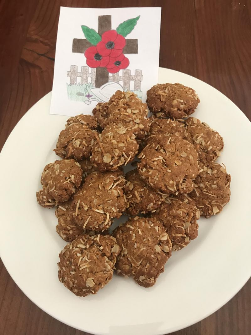 Ava M's Anzac Biscuits